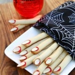 Frightening Finger Cookies