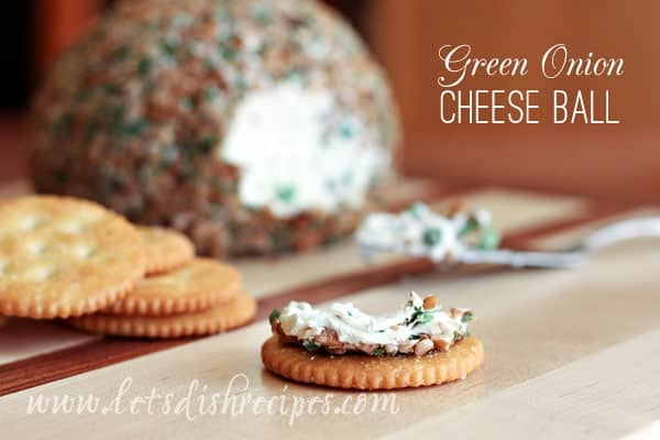 Green Onion Cheese Ball