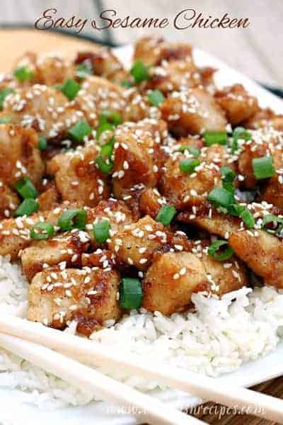 Easy Sesame Chicken | Let's Dish Recipes