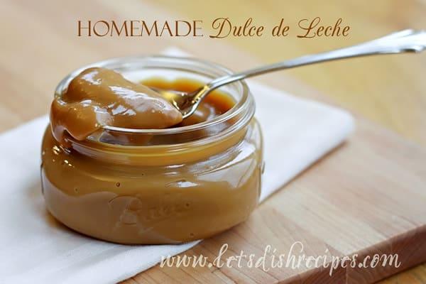Homemade Dulce de Leche