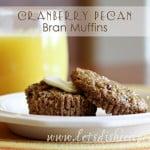 Cranberry Pecan Bran Muffins