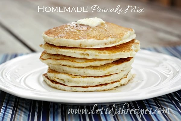 Homemade Pancake Mix | Let's Dish Recipes