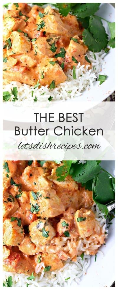 Best Butter Chicken