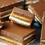 Chocolate Caramel Crunch Bars