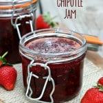 Strawberry Chipotle Jam (Market Monday)