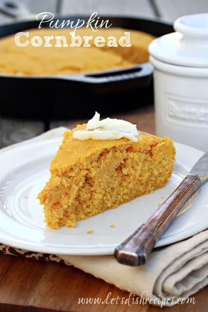 Pumpkin Cornbread — Let's Dish Recipes