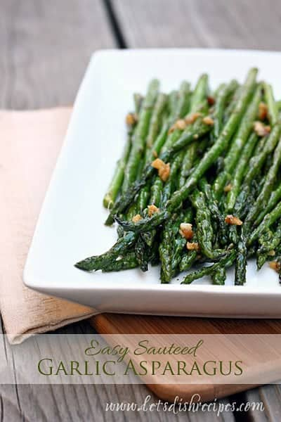 Easy Sauteed Garlic Asparagus