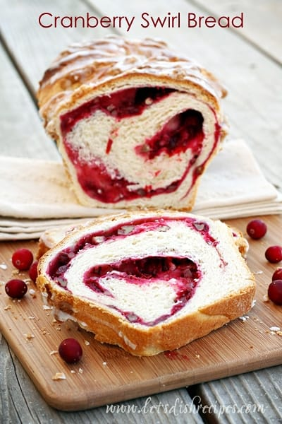 Cranberry Swirl Bread