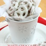White Chocolate Peppermint Pretzels (Guest Post)