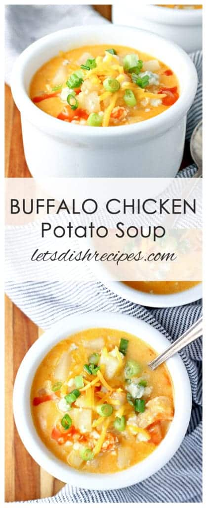 Buffalo Chicken Potato Soup