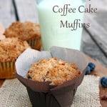 Blueberry Coffeecake Muffins