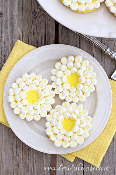 Spring Daisy Cookies