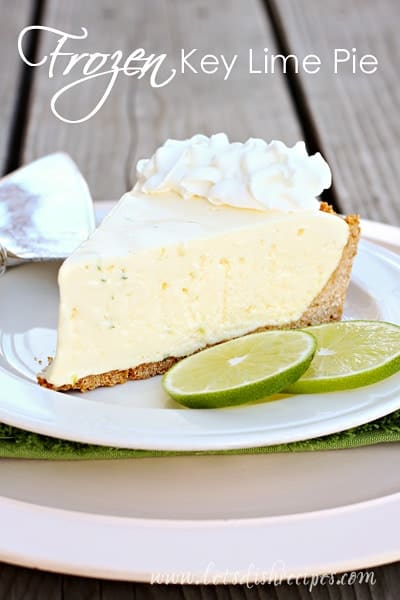 Frozen Key Lime Pie Recipes — Dishmaps