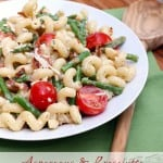 Asparagus and Prosciutto Pasta Salad.