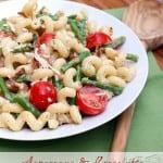 Asparagus and Prosciutto Pasta Salad (Market Monday)