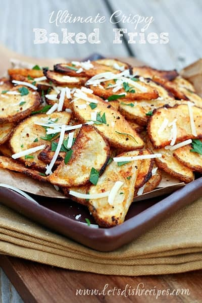 Ultimate Crispy Baked Fries