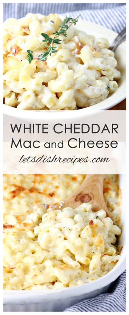 Smoky White Cheddar Mac and Cheese
