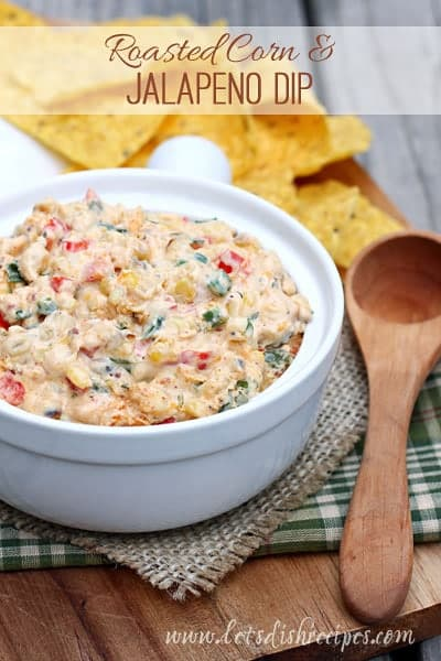 Roasted Corn and Jalapeno Dip
