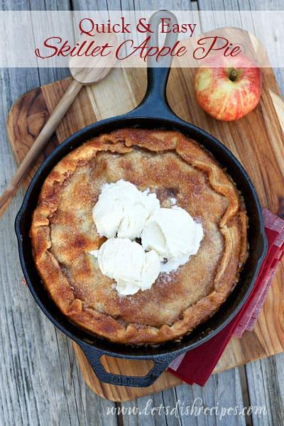 Skillet Apple Pie (2)