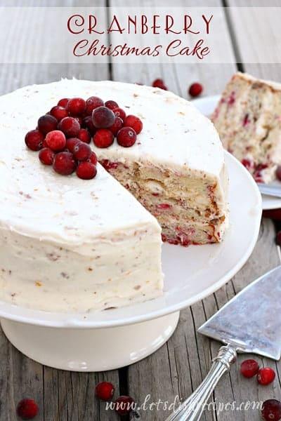 Cranberry-Christmas-Cake