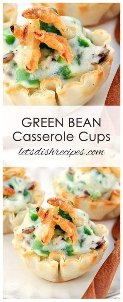 Green Bean Casserole Cups