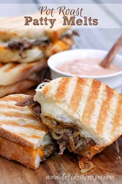 ... Patty Melts are the best thing to happen to leftover roast since