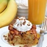 Overnight Pecan Caramel Sweet Roll Breakfast Casserole
