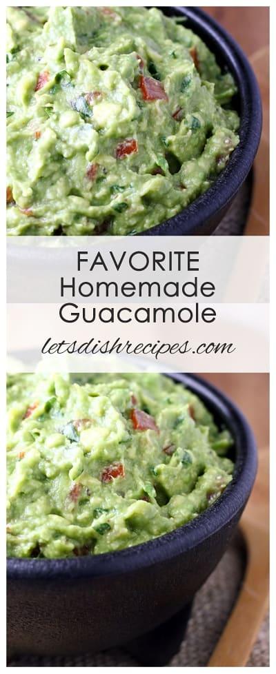 Favorite Homemade Guacamole