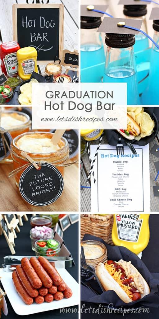 Graduation Party Hot Dog Bar