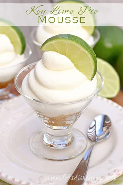 Key Lime Pie Mousse