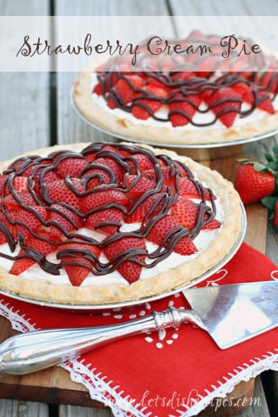 strawberry-cream-pie