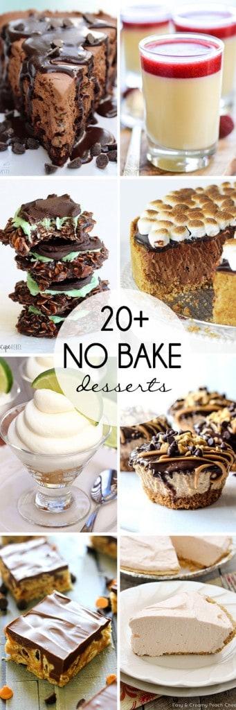 No-Bake-Desserts-collage
