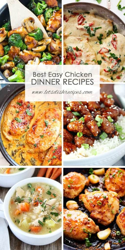 Best Easy Chicken Dinner Recipes