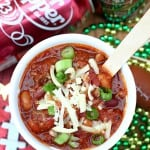 Dr. Pepper Game Day Beef Chili
