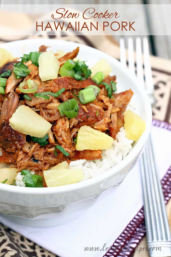 Slow Cooker Hawaiian Pork