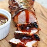 Raspberry Chipotle Grilled Pork Tenderloin