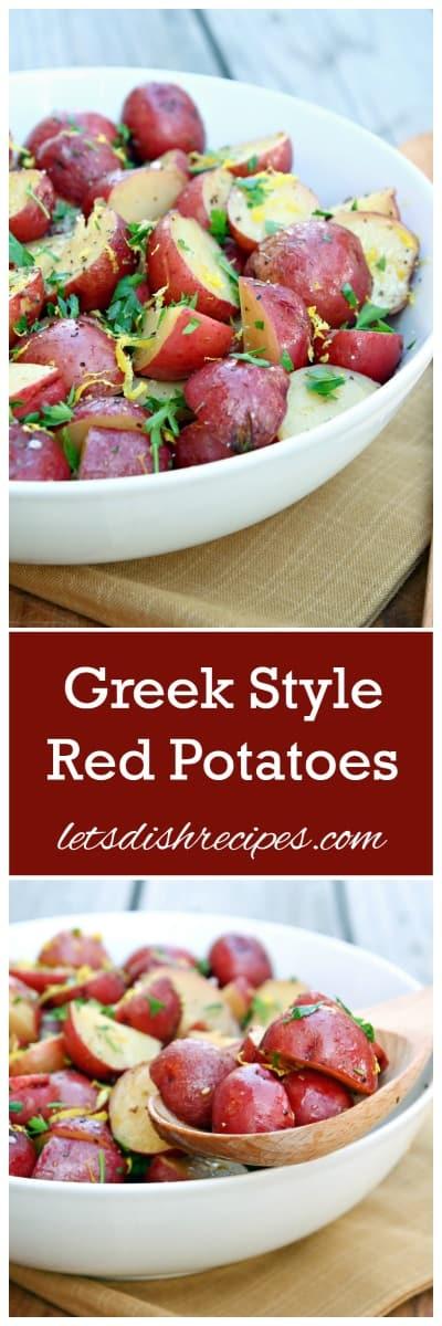 Greek Potatoes Pin