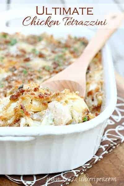 Ultimate chicken tetrazzini lets dish recipes forumfinder Image collections