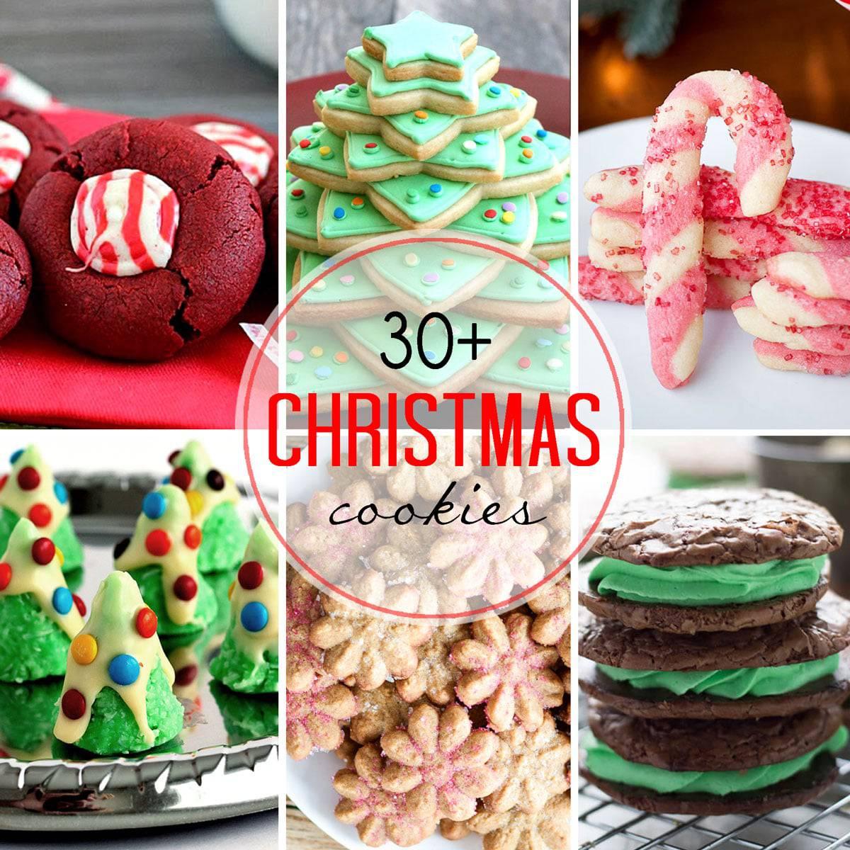 Thirty Plus Festive Christmas Cookie Recipes