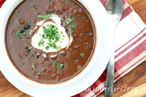 Easiest Ever Black Bean Soup