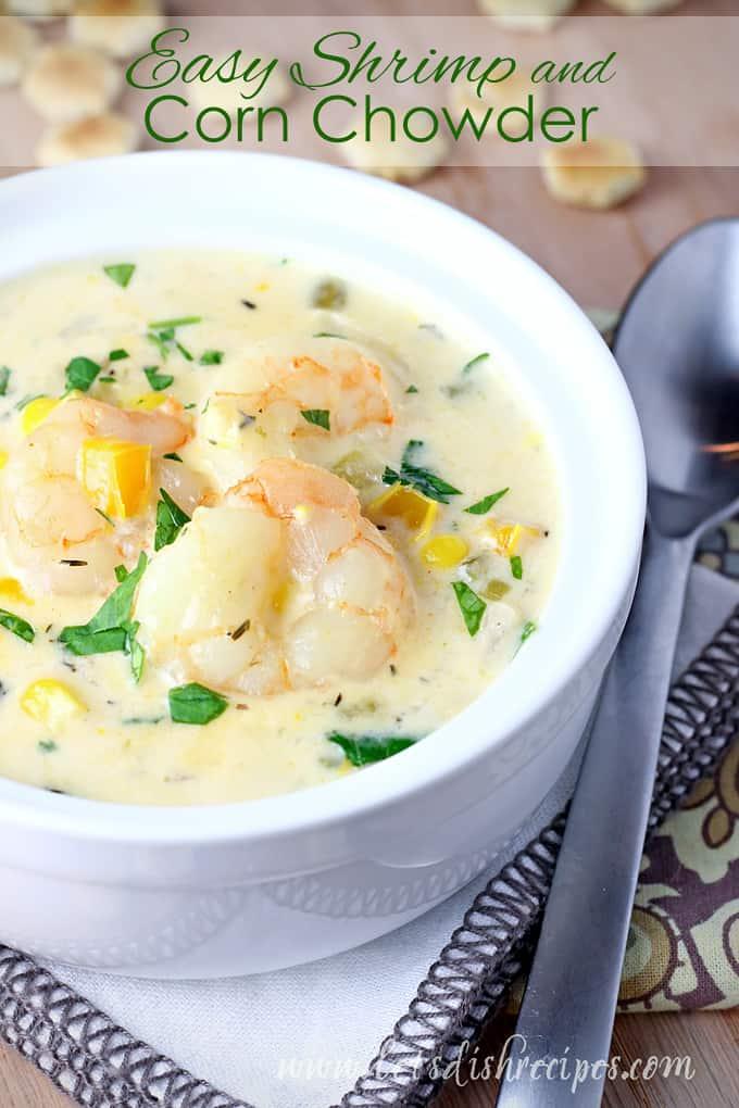 Easy Shrimp and Corn Chowder