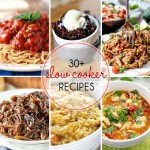 Thirty Plus Slow Cooker Recipes