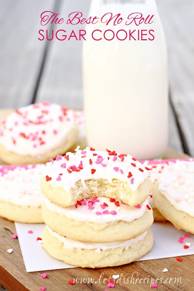 The Best No-Roll Sugar Cookies
