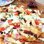 Greek Chicken Flatbread and a Giveaway