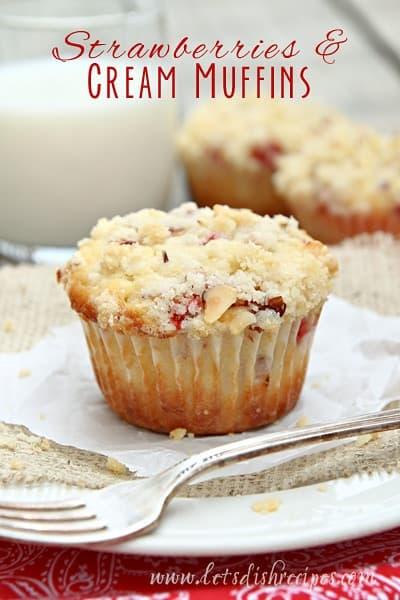 strawberries-cream-muffin