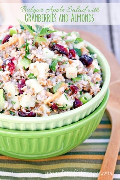 Bulgur Apple Salad