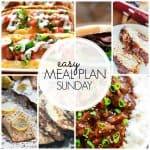 Easy Meal Plan Sunday {Week 44}