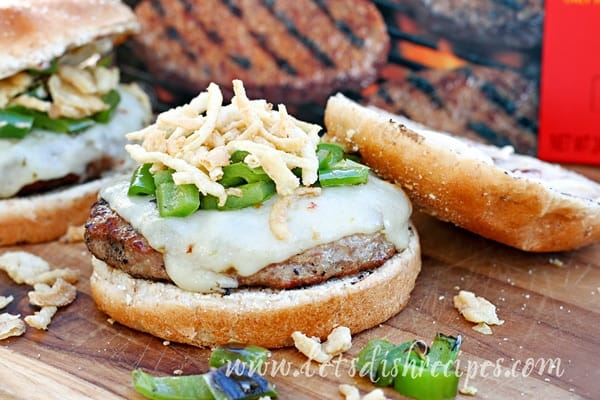 Chile Rellenos Burgers