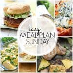 Easy Meal Plan Sunday {Week 48}