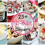 Twenty Five Plus No Bake Desserts